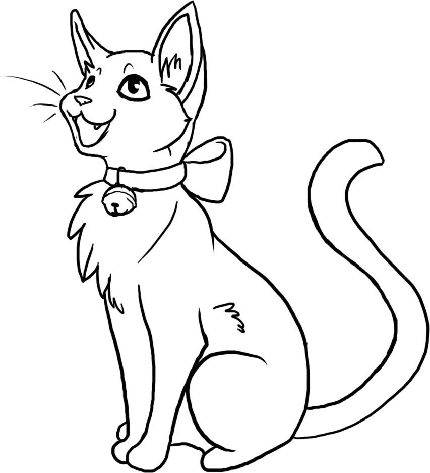 Furry Outline Coloring Pages