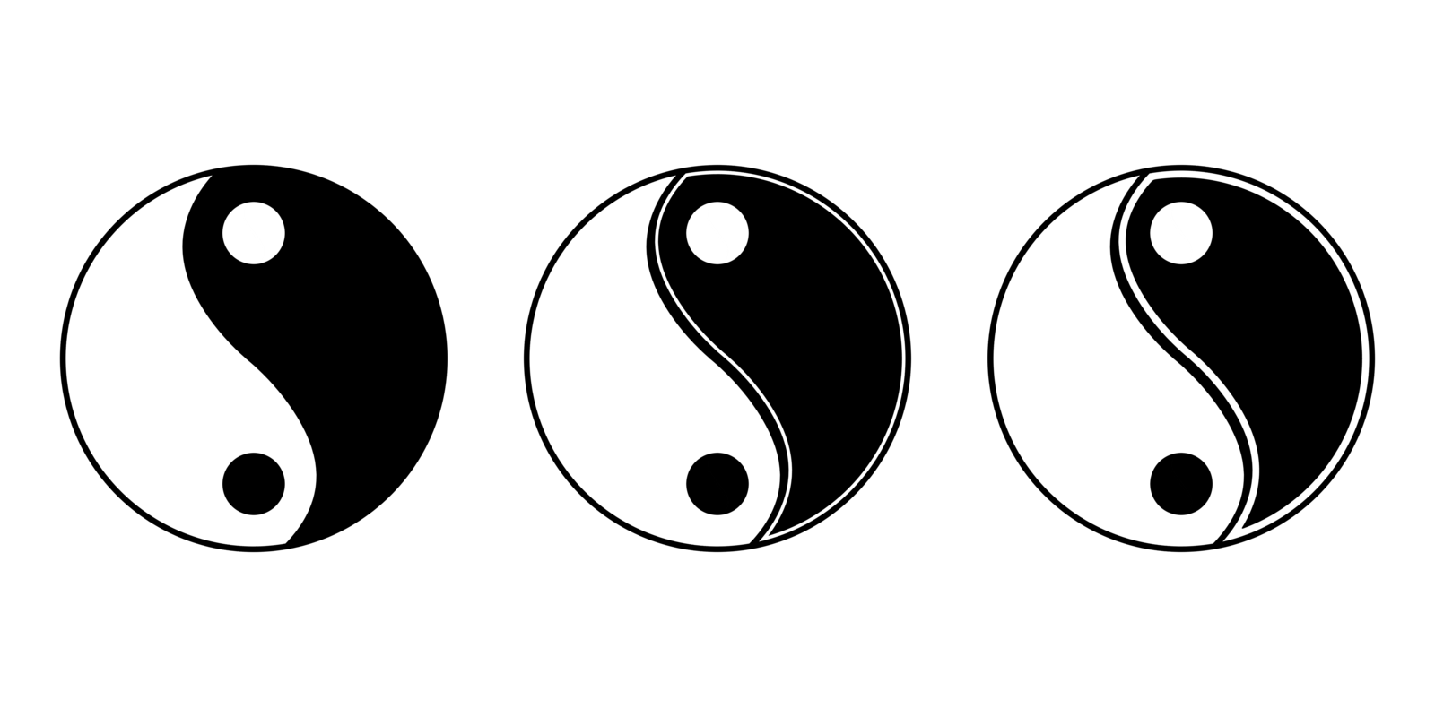 Yin Yang Design - ClipArt Best