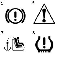 driving symbols clipart