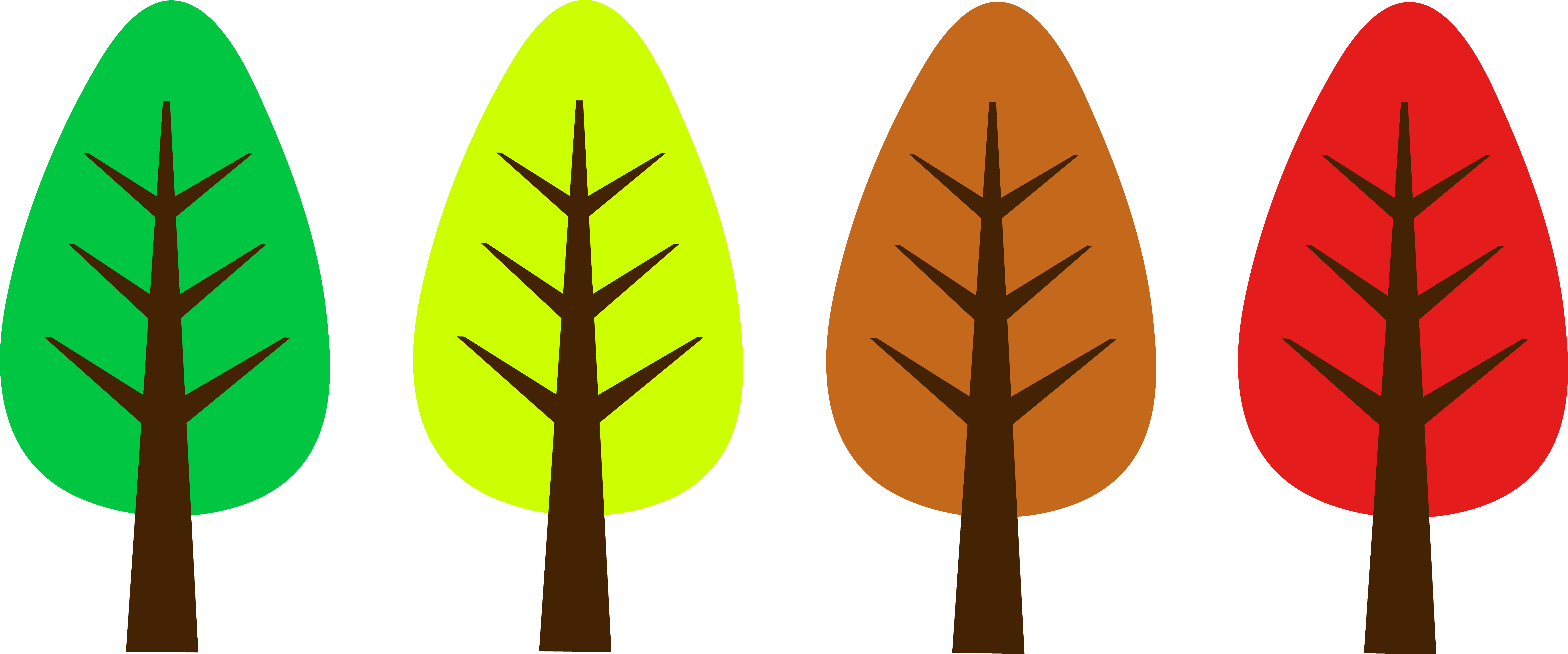 Fall Trees Clip Art - ClipArt Best