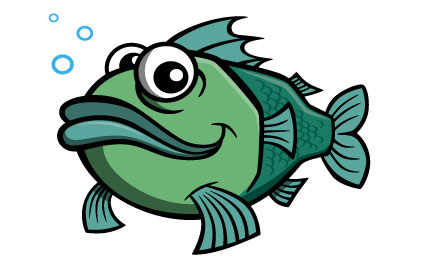 Fish cartoons clipart best for Disney fish names