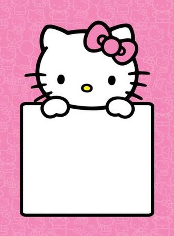 hello kitty invitations free download