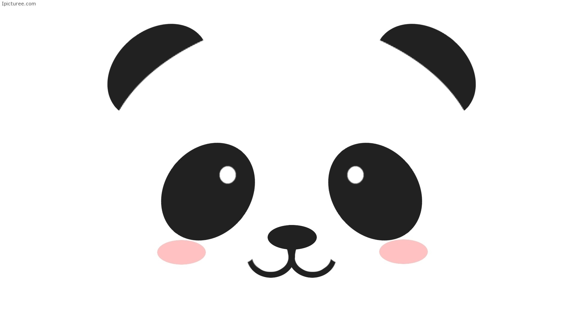 Download Stock Photos of simple design of the face of a panda to ...
