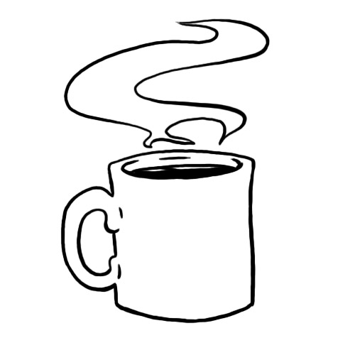 drawing coffee clipart best