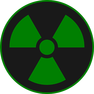 Green Radioactive Symbol Png Clipart Best