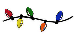 String Of Christmas Lights Clipart - Free Clipart ...