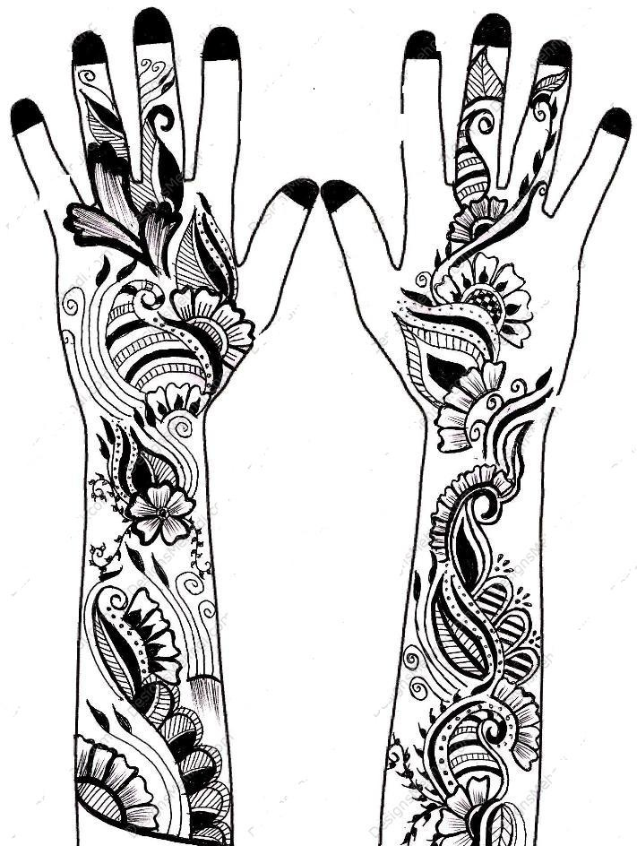 Mehndi Clip Art