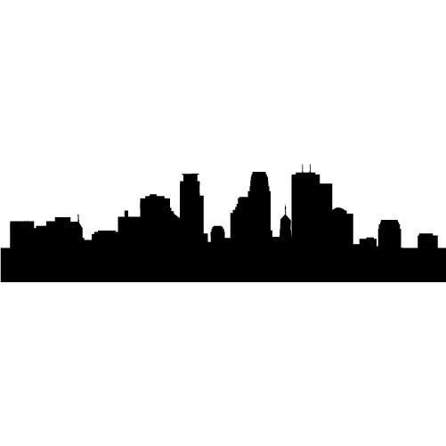 Seattle Skyline Outline Drawing Seattle Skyline Outline