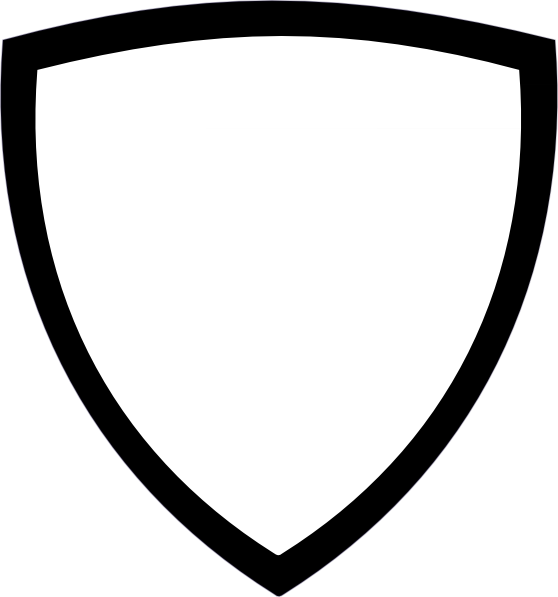 shield templates   clipart best