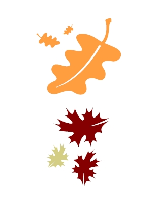 Clipart leaves falling - ClipartFox