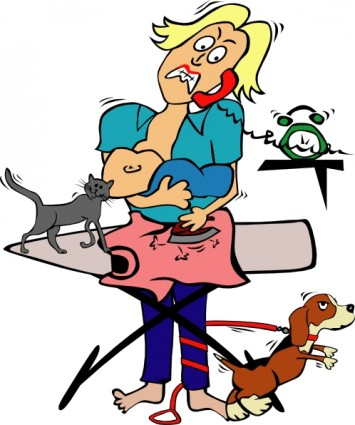 Working Mother Clip Art - Free Clipart Images