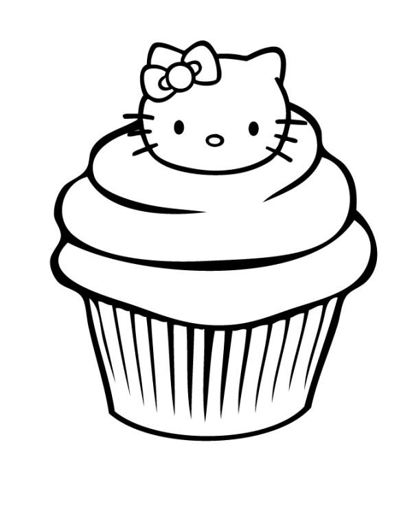 Cupcake Hello Kitty Cl...