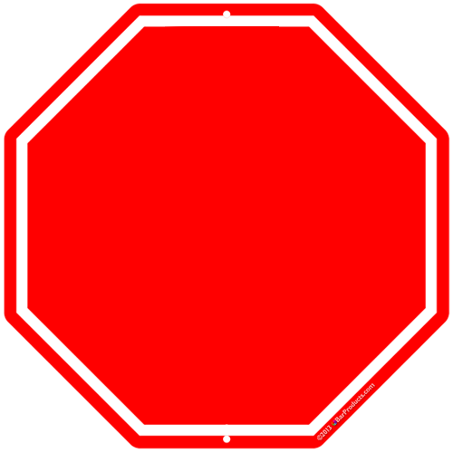 Stop Clipart Png Stop Sign Template Clipart
