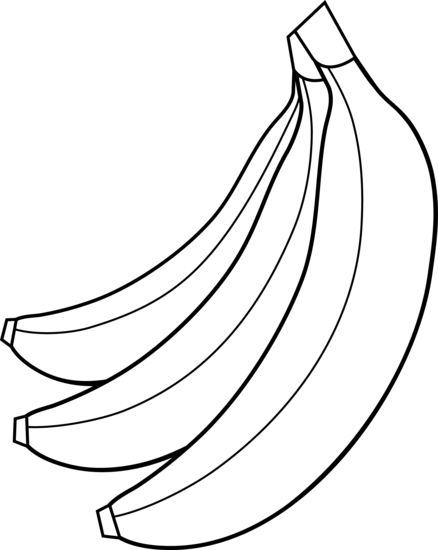 Banana Clipart Black And White Free - ClipArt Best