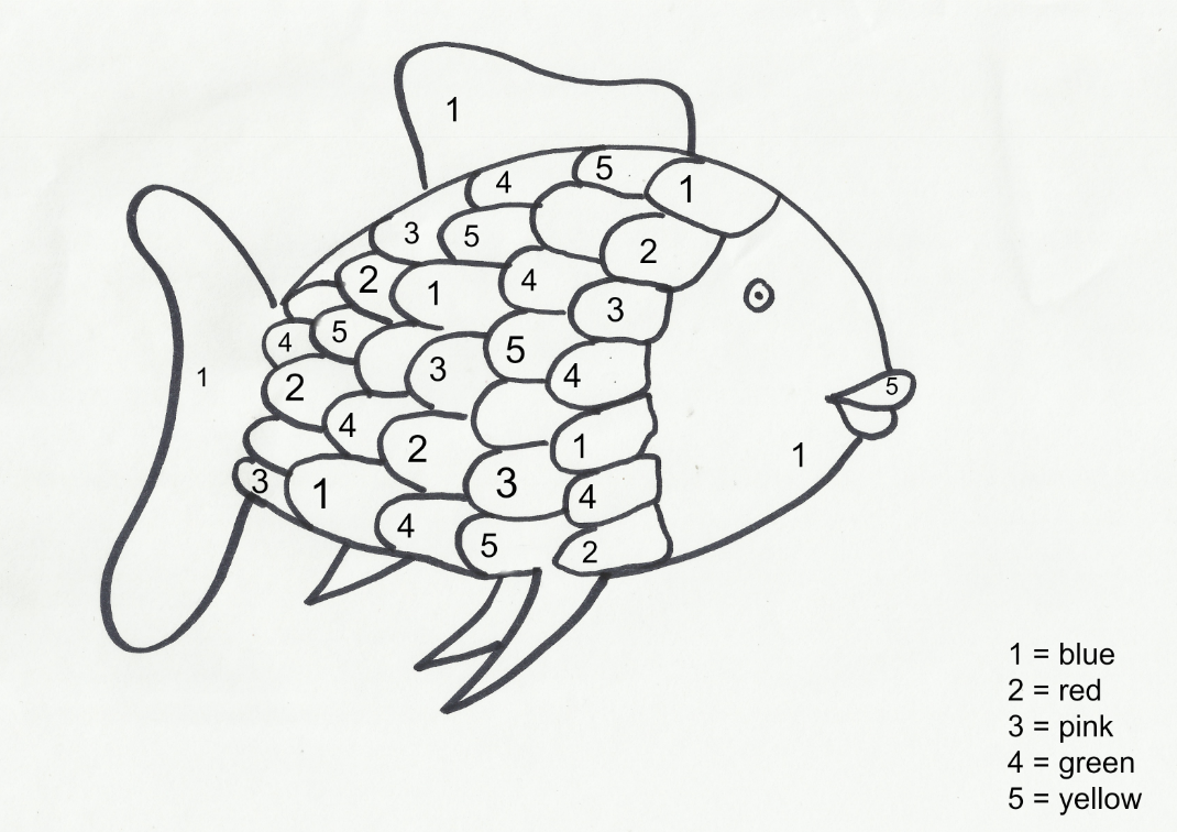 Rainbow Fish Clipart Rainbow Fish Coloring Page