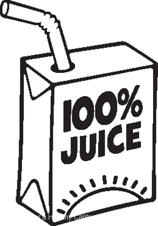 Juice Box Free Coloring Pages For Kids Printable Colouring