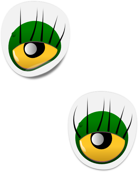 Monster Eyes Clipart