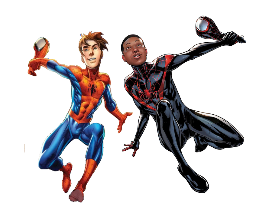 spiderman coloring pages miles morales - photo#36