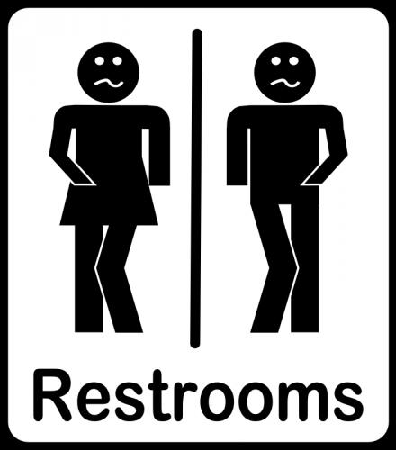 Bathroom Signs Clip Art