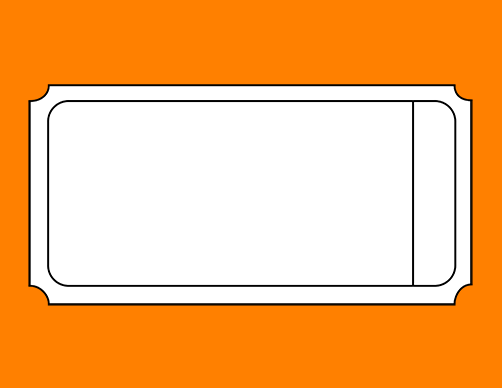 Blank Printable Ticket TEMPLATES ClipArt Best – Free Printable Tickets Template
