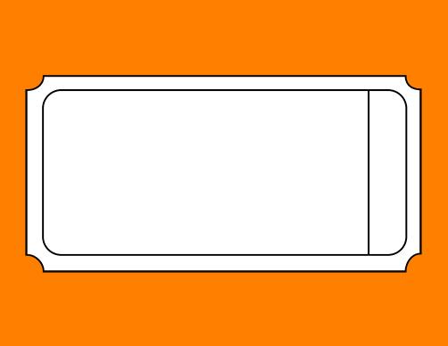 blank printable ticket templates clipart best. Black Bedroom Furniture Sets. Home Design Ideas
