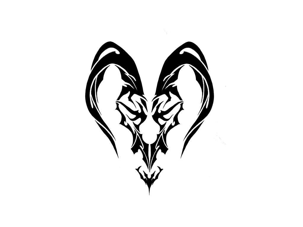Тату козерог фото знака зодиака в готовой татуировке