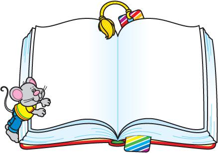 Open Book Clip Art Template Open Book Clip Art Template