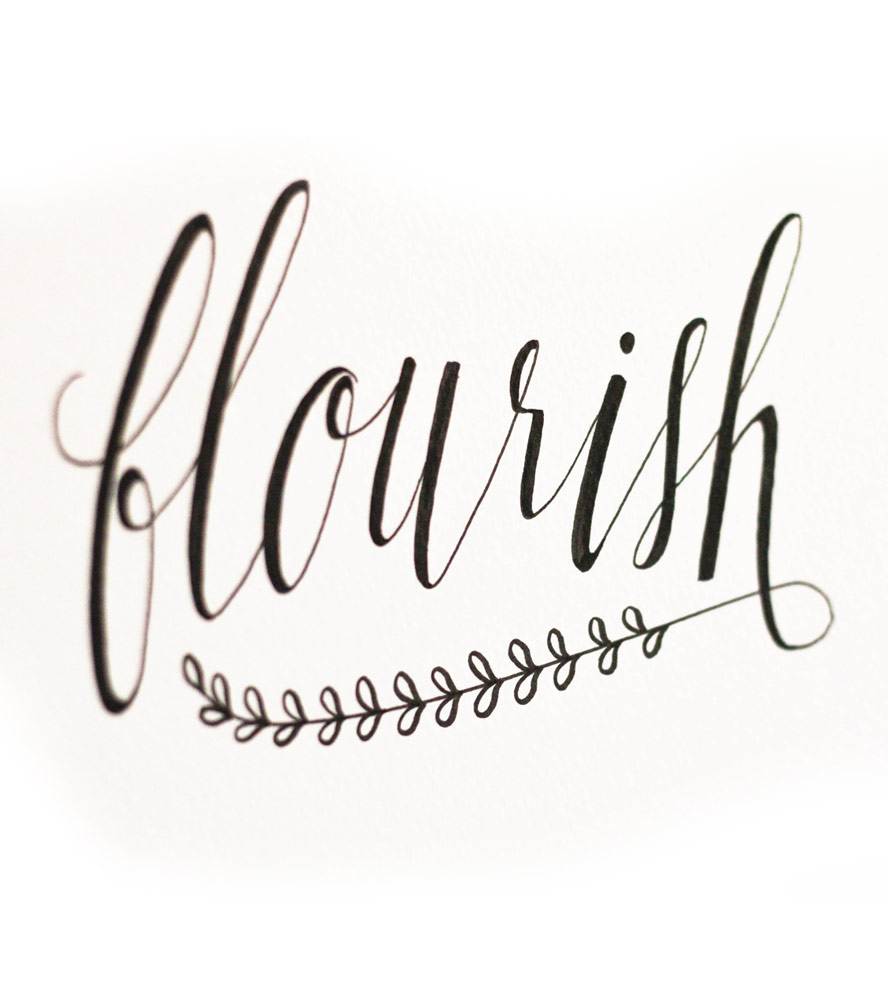 Images Calligraphy Flourishes Clipart Best