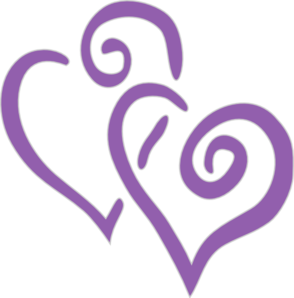 Interwined Heart clip art - vector clip art online, royalty free ...
