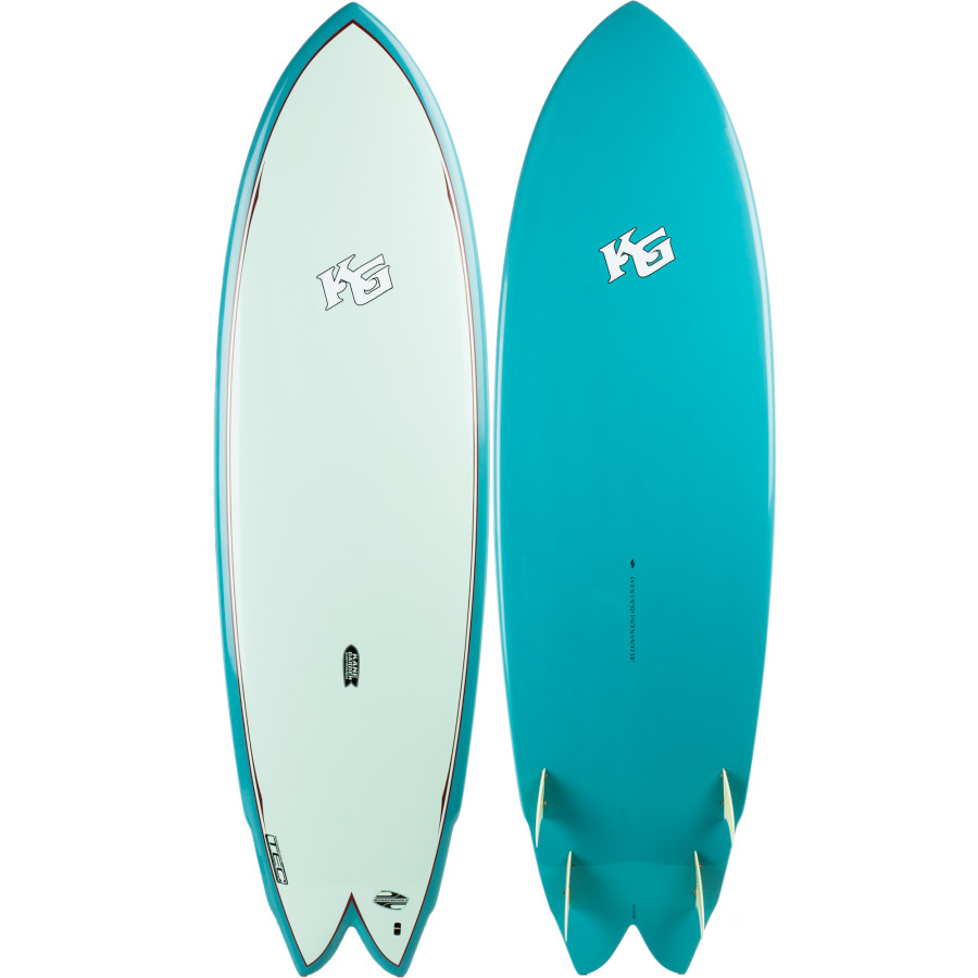 Boardworks kane garden nautilus fish ii surfboard for Best fish surfboard
