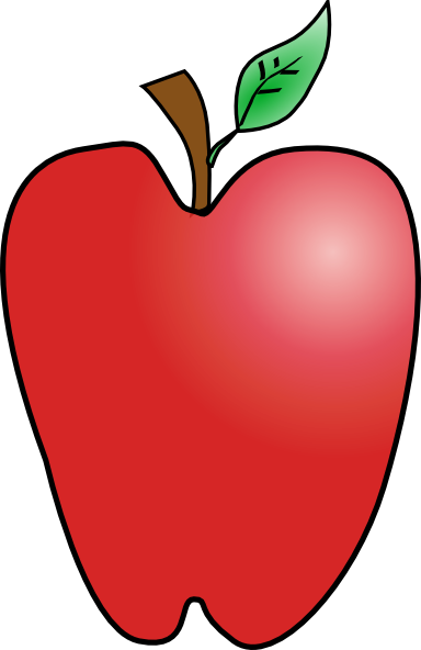 Apple Cartoon Clip Art - ClipArt Best