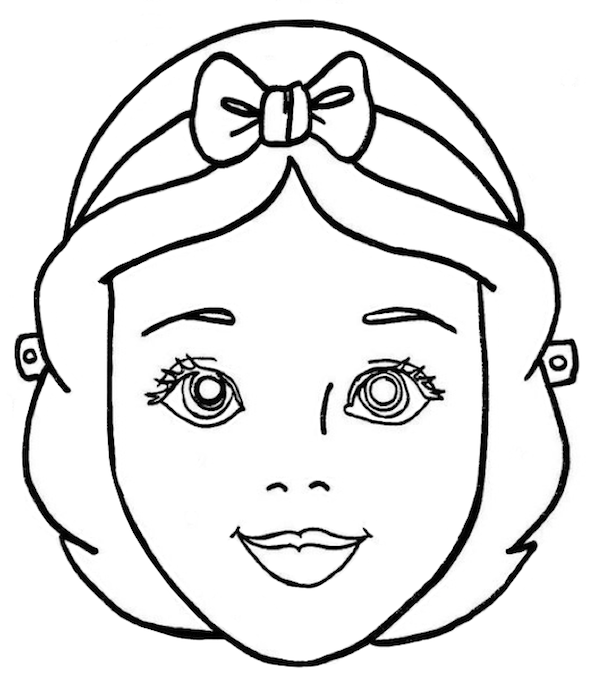 mask halloween coloring pages - photo#18