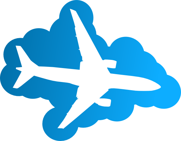 Plane Silhouette clip art - vector clip art online, royalty free ...