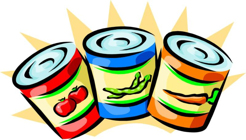 Chapman's Chalkboard: Canned Food Drive