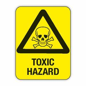 CAUTION TOXIC HAZARD - Safety Signs Australia - ClipArt ...