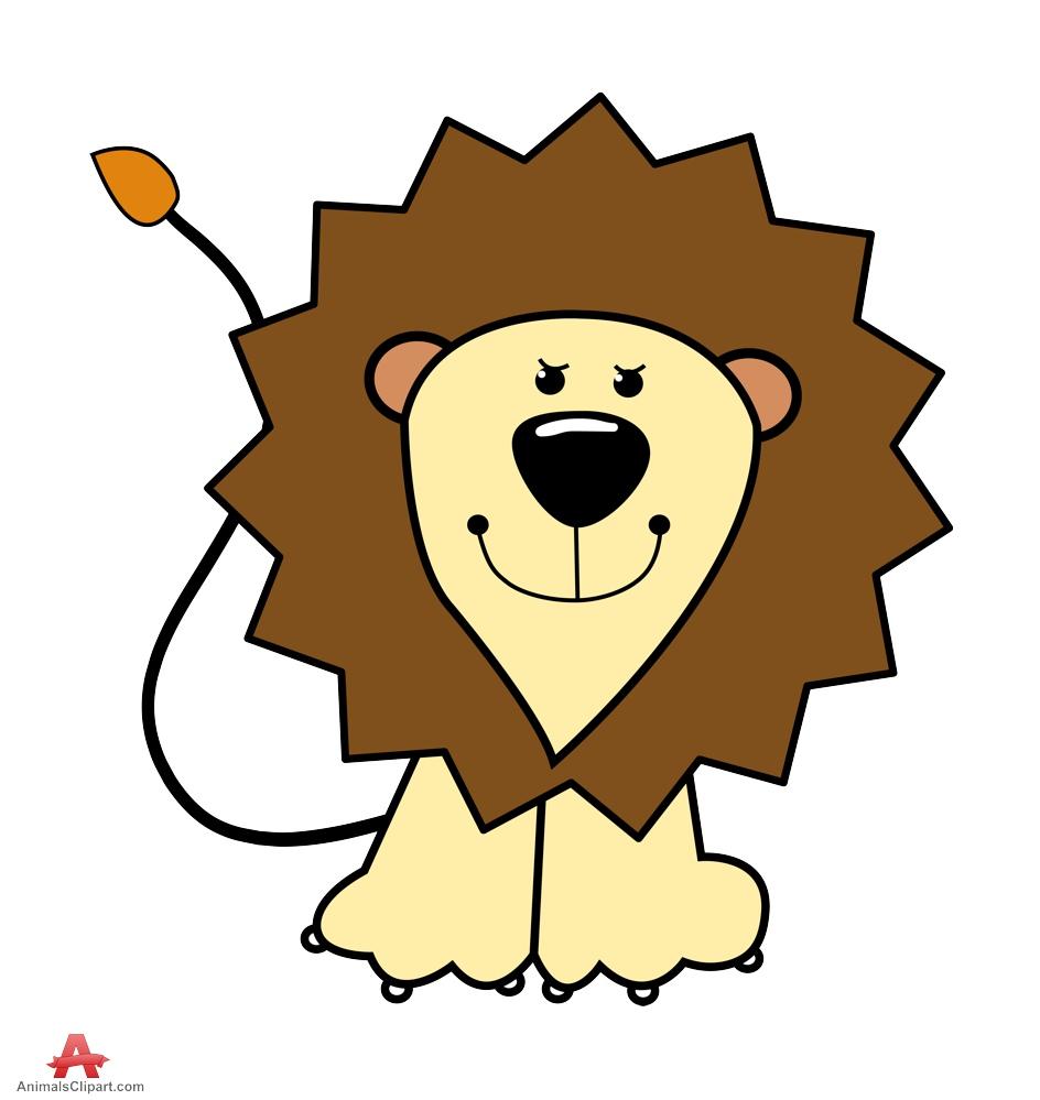 Cartoon Character Design Free Software : Cartoon character lion clipart best