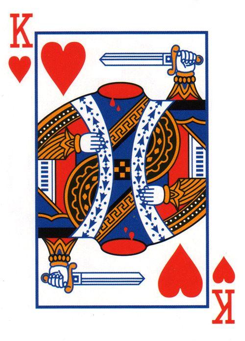 Queen Of Hearts Card Designs