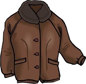 clipart winter coat clipart best