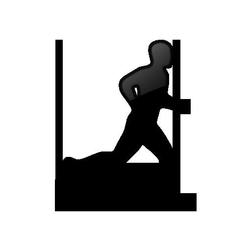 man running icon clipart best runner clip art black runner clip art free pics