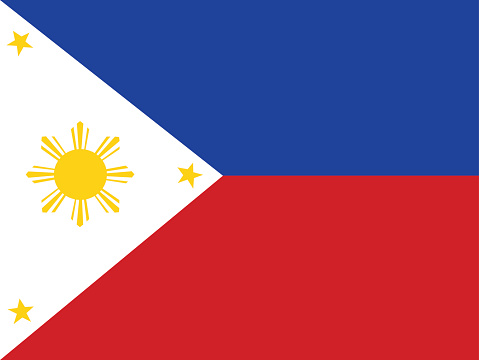 Philippines Flag Clip Art, Vector Images & Illustrations