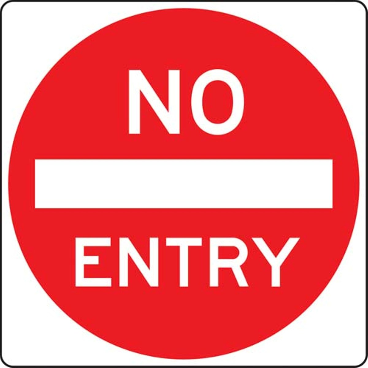 No Entry - ClipArt Best
