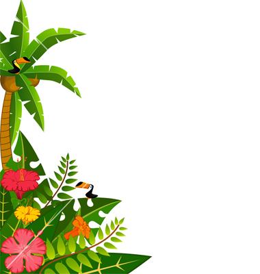 hawaiian border images clipart best