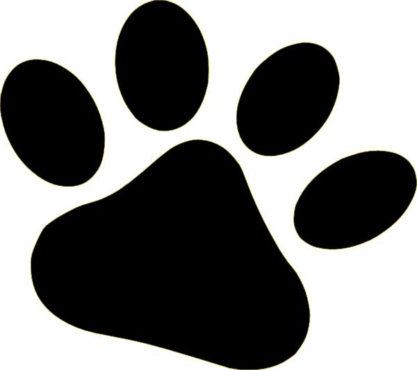 Tiger Paw Print Stencil - ClipArt Best