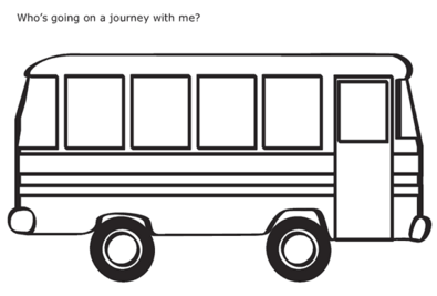 outline image of a bus clipart best