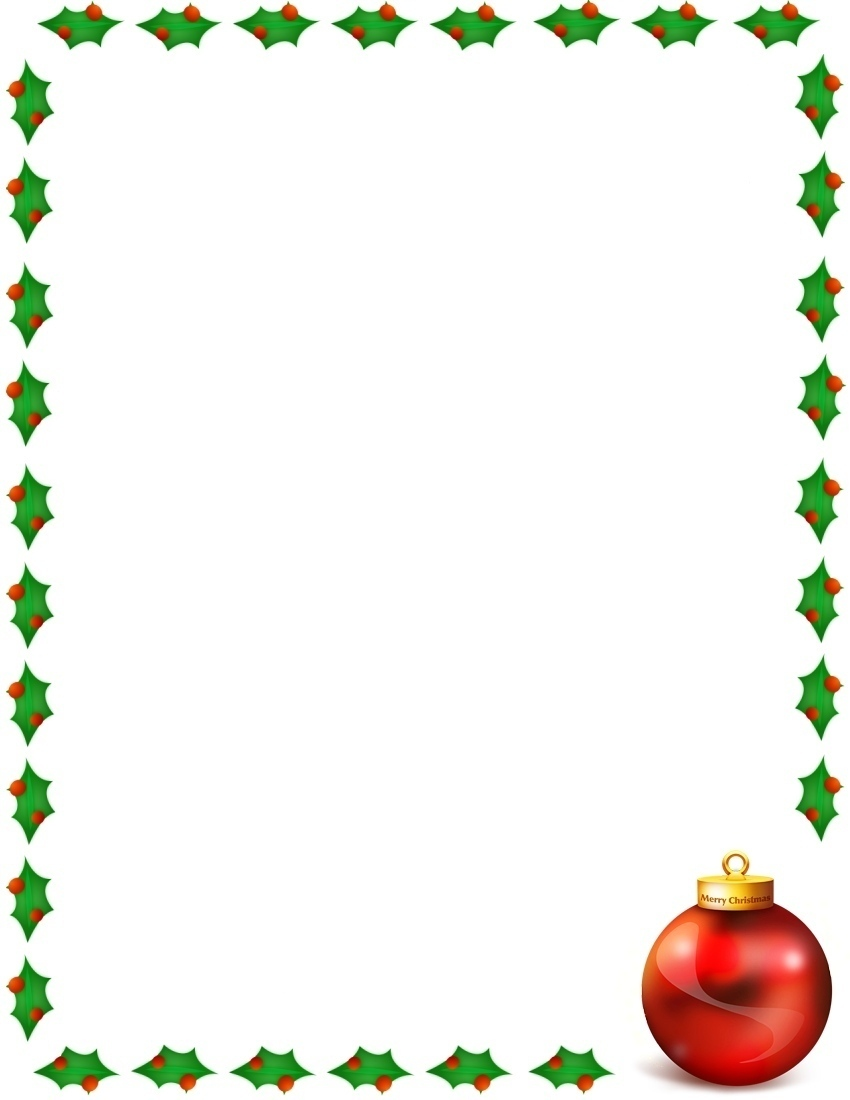 clipart xmas borders - photo #6