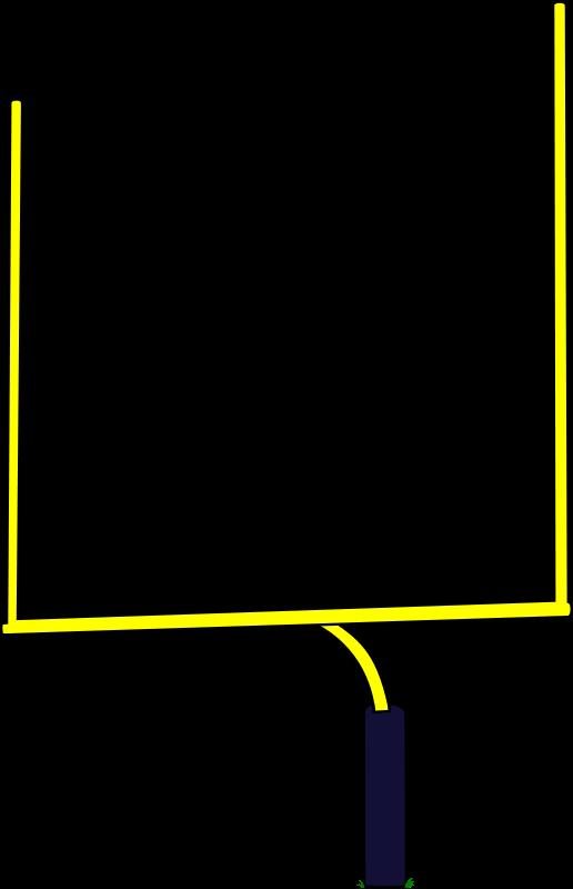 Football Field Goal - ClipArt Best