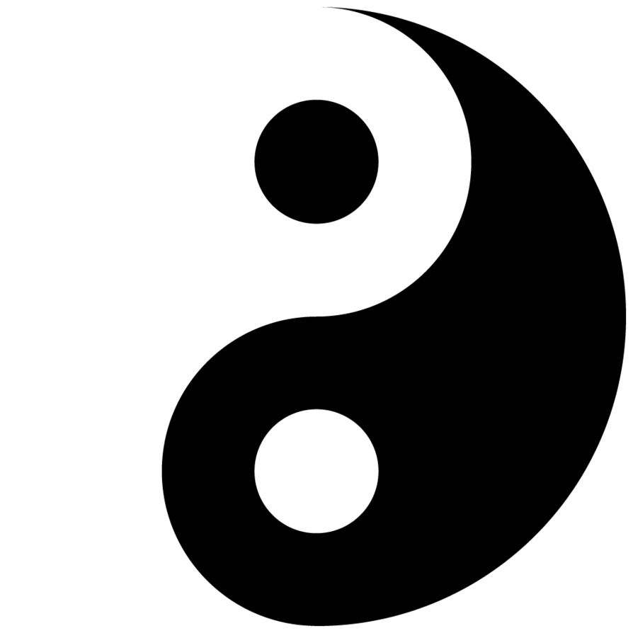 Yin Yang Vector File Free - ClipArt Best