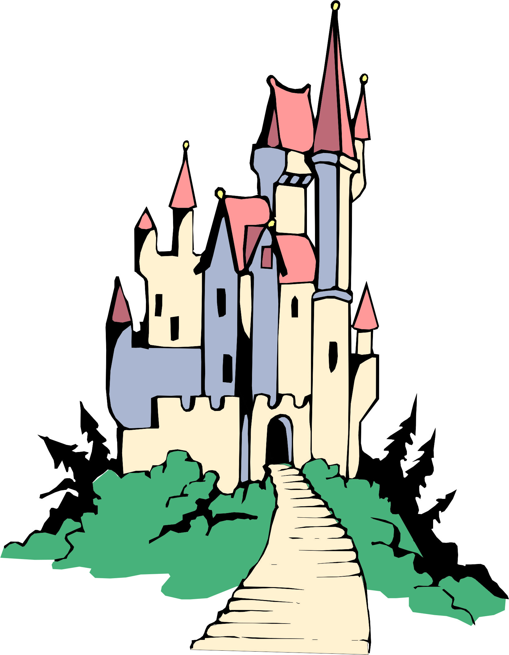 12 cartoon castle images . Free cliparts that you can download to you ...