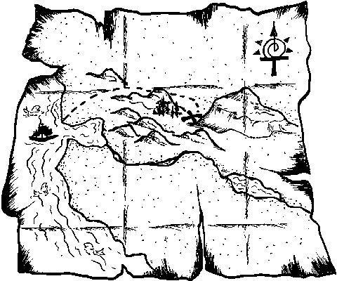 Treasure Map Template Printable - ClipArt Best