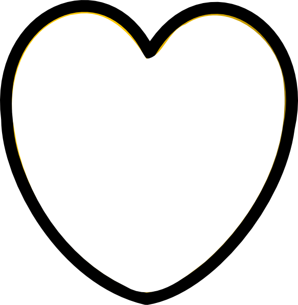 Free Heart Clipart Black And White